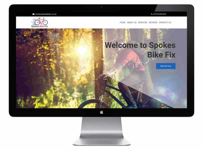 Spokes Bike Fix Grimsby Specialist Bike Fix Website Design Grimsby